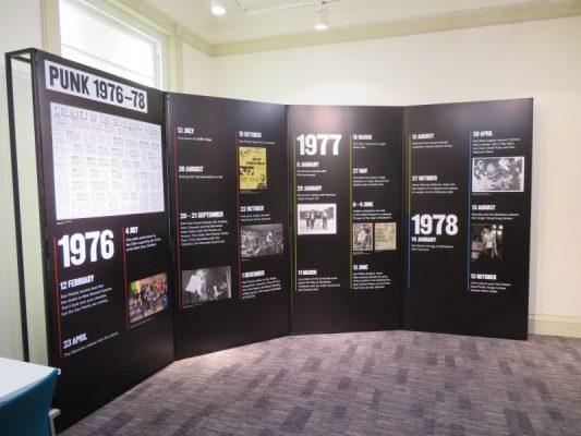 Punk Exhibition - Vestibule