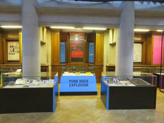 Punk Exhibition - Hornby Library
