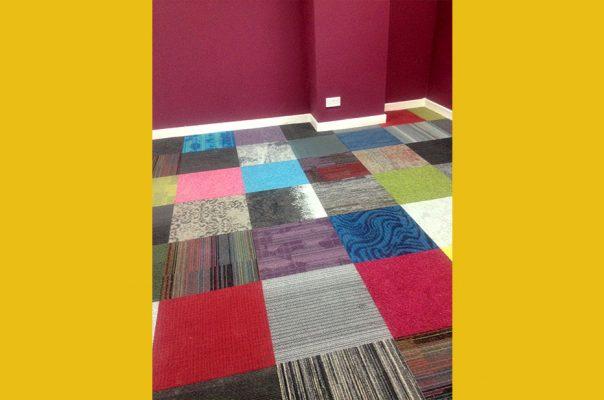 Bootle Strand - Management Centre Staff Room Carpet Detail