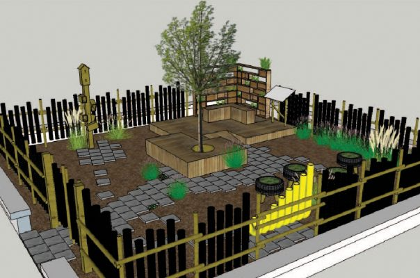 Sensory Square Garden - Visual