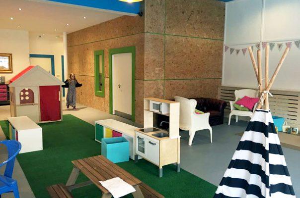 Wigwam Coffee Shop - Play Area