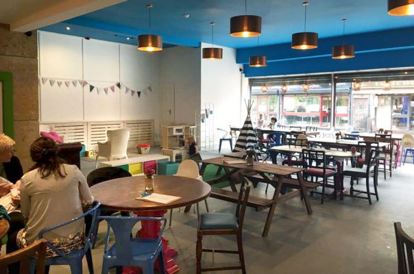 Wigwam Coffee Shop - Seating Area