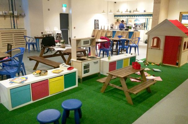 Wigwam Coffee Shop - Play Area