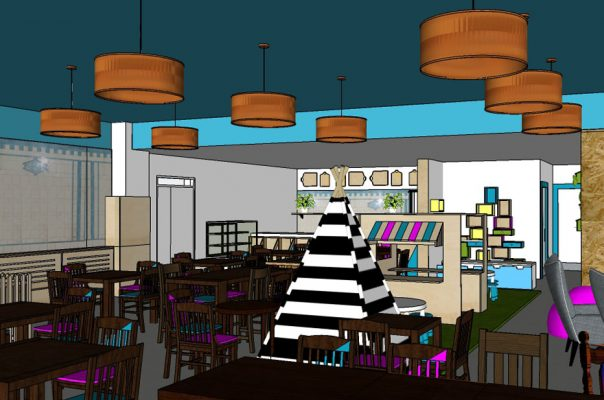 Wigwam Coffee Shop - Visuals